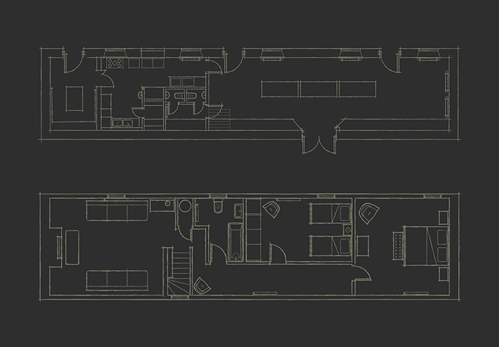 Sketchy Floor Plan illustration